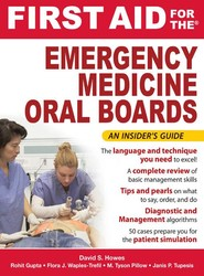 First Aid for the Emergency Medicine Oral Boards