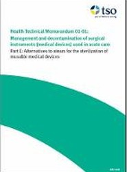 Management and Decontamination of Surgical Instruments (Medical Devices) Used in Acute Care: Alternatives to Steam for the Sterilization of Reusable Medical Devices Part E
