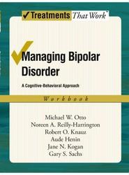 Managing Bipolar Disorder: Workbook
