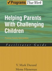 Helping Parents With Challenging Children