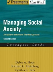 Managing Social Anxiety,Therapist Guide
