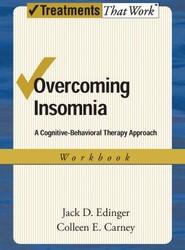 Overcoming Insomnia: Workbook