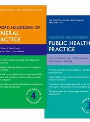 Oxford Handbook of General Practice and Oxford Handbook of Public Health Practice Pack