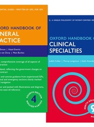 Oxford Handbook of Clinical Specialties and Oxford Handbook of General Practice Pack
