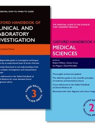 Oxford Handbook of Clinical and Laboratory Investigation and Oxford Handbook of Medical Sciences Pack