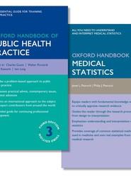Oxford Handbook of Public Health Practice and Oxford Handbook of Medical Statistics