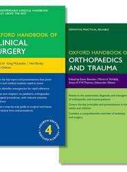 Oxford Handbook of Clinical Surgery and Oxford Handbook of Orthopaedics and Trauma