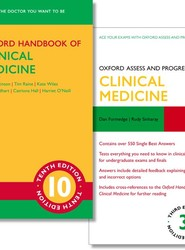 Oxford Handbook of Clinical Medicine 10e and Oxford Assess and Progress: Clinical Medicine 3e