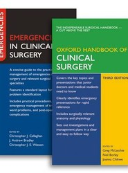 Oxford Handbook of Clinical Surgery and Emergencies in Clinical Surgery Pack