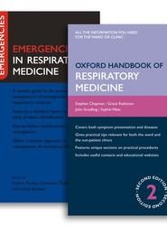 Oxford Handbook of Respiratory Medicine and Emergencies in Respiratory Medicine Pack