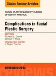 Complications in Facial Plastic Surgery, An Issue of Facial Plastic Surgery Clinics