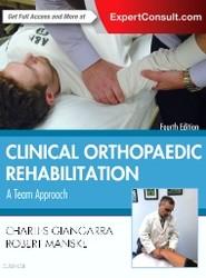 Clinical Orthopaedic Rehabilitation: A Team Approach