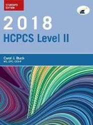 2018 HCPCS Level II Standard Edition