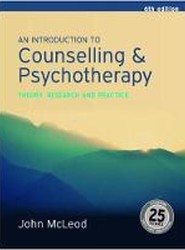 An Introduction to Counselling and Psychotherapy:Theory, research and practice
