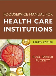 Foodservice Manual for Health Care Institutions