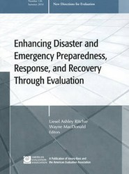 Enhancing Disaster and Emergency Preparedness, Response, and Recovery Through Evaluation Summer 2010