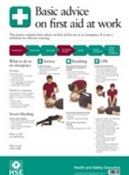 Basic Advice on First Aid Poster