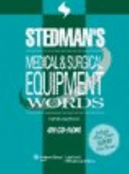 Stedman's Medical & Surgical Equipment Words, Fifth Edition, Download
