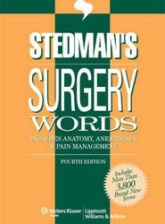 Stedman's Surgery Words