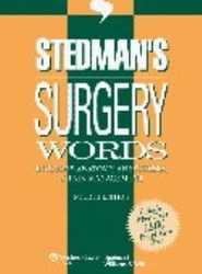 Stedman's Surgery Words, Fourth Edition, Download