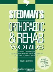 Stedman's Orthopaedic & Rehab Words