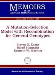 A Mutation-Selection Model with Recombination for General Genotypes