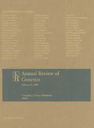 Annual Review of Genetics, Volume 43