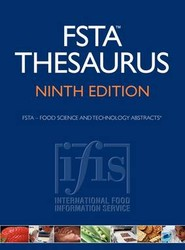 FSTA Thesaurus Ninth Edition