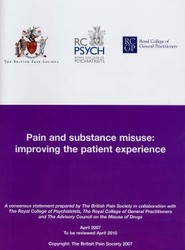 Pain and Substance Misuse