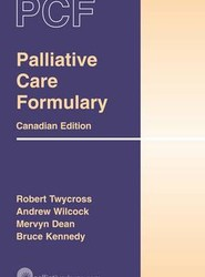 Canadian Palliative Care Formulary