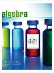 Algebra with Allied Health Applications