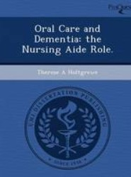 Oral Care and Dementia