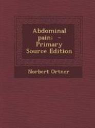 Abdominal Pain;