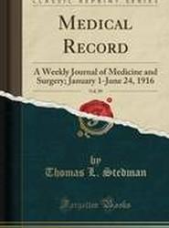Medical Record, Vol. 89