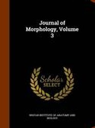 Journal of Morphology, Volume 3