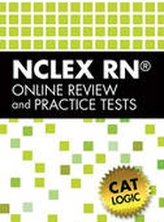 Delmar S NCLEX-RN Review Online with Cat Logic 1-Year Printed Access Card