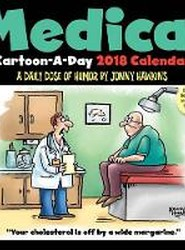 Medical Cartoon-a-Day 2018 Day-to-Day Calendar