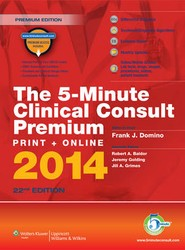 The 5-Minute Clinical Consult Premium Print + Online 2014
