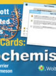 Lippincott Illustrated Reviews Flash Cards: Biochemistry