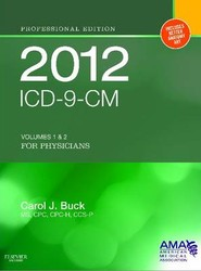 ICD-9-CM 2012 Professional Edition for Physicians, Compact