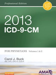 ICD-9-Cm 2013 Professional Edition for Physicians: Volume 1 and 2