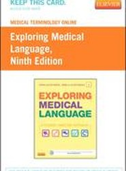Medical Terminology Online for Exploring Medical Language (Access Card)