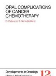 Oral Complications of Cancer Chemotherapy