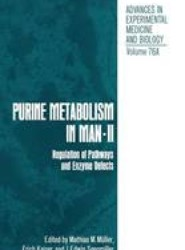 Purine Metabolism in Man—II