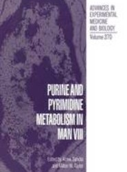 Purine and Pyrimidine Metabolism in Man VIII