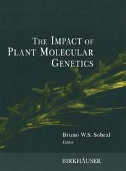 The Impact of Plant Molecular Genetics