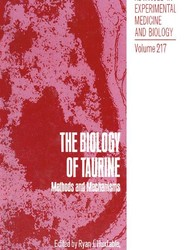 The Biology of Taurine