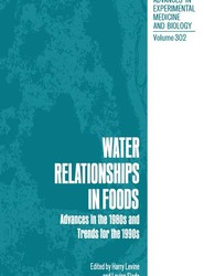 Water Relationships in Foods