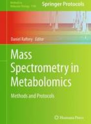 Mass Spectrometry in Metabolomics