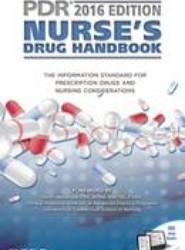 2016 PDR Nurse's Drug Handbook